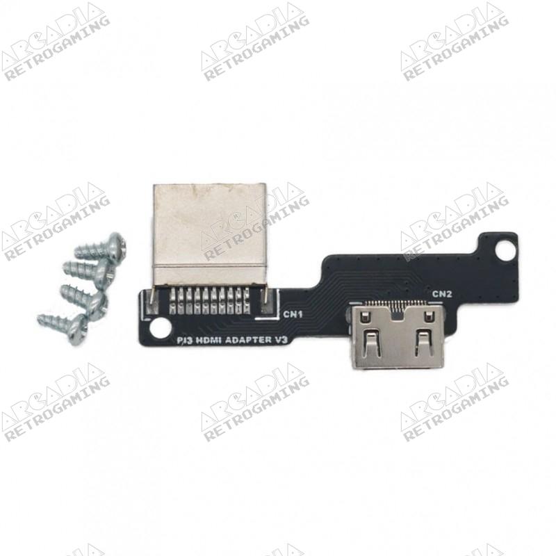 Adaptateur Micro-HDMI vers Mini-HDMI Raspberry Pi 4 pour boitier PiBoy DMG