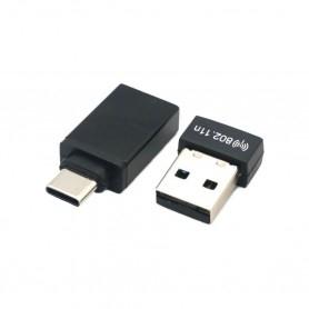 Clé wifi N avec adaptateur USB-C
