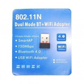 Clé Wifi N + Bluetooth 4.0