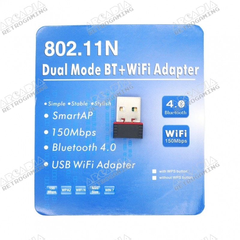 Clé Wifi N + Bluetooth 4.0