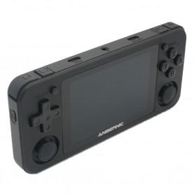 Anbernic RG351P handheld console - Black - left
