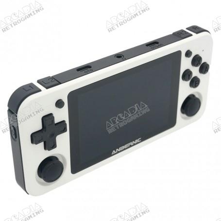 Console Portable Anbernic RG351P - Blanche - gauche
