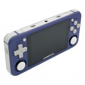 Anbernic RG351P handheld console - Purple - left