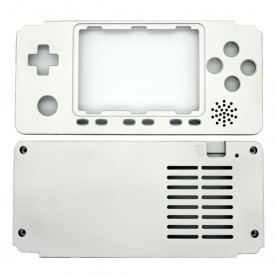 Aluminum case for Odroïd Go Advance Black Edition - Silver