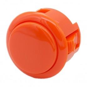 Sanwa OBSF-30 button - Orange