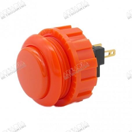 Bouton Sanwa OBSN-24 - Orange