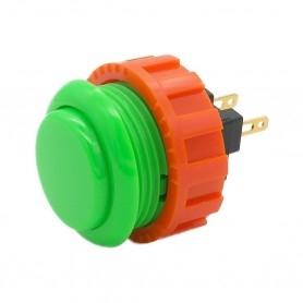 Sanwa OBSN-24 Button - Green
