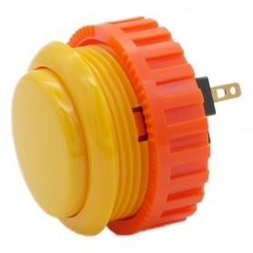 Sanwa OBSN-30 button - Yellow