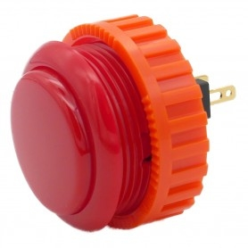 Sanwa OBSN-30 button - Red