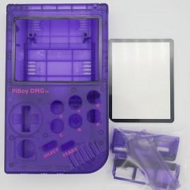 Piboy DMG case - Transparent Purple