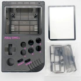 Boitier Piboy DMG - Noir Transparent