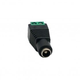 2.5 x 5.5mm female jack connector
