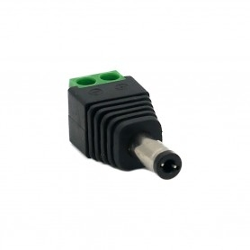 2.1 x 5.5mm male jack connector
