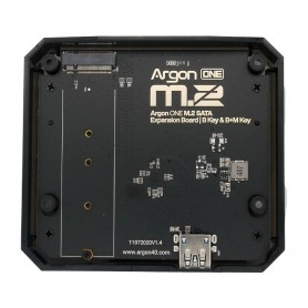 M.2 SATA SSD expansion box for ARGON ONE