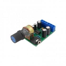 Mini stereo audio amplifier 2x5W