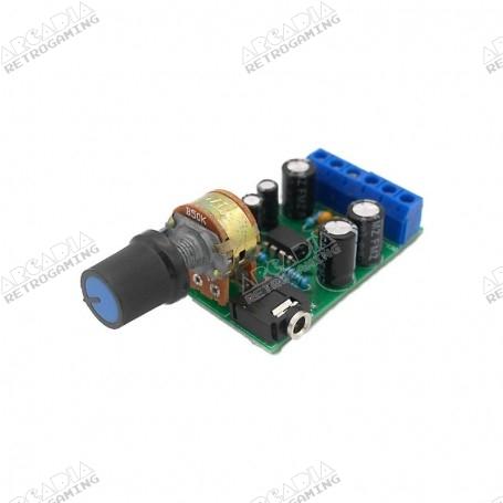 Mini amplificateur audio stéréo 2x5W