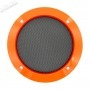 Grille Haut-Parleur 120mm - Orange