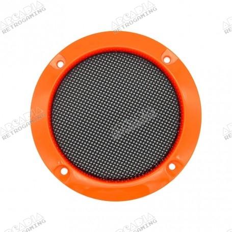Grille Haut-Parleur 95mm - Orange