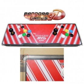 Console Arcade 4 players - Pandora GAMES 3D - MVS