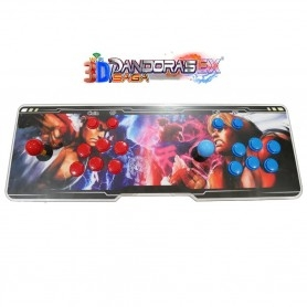 2 Player Arcade Console - Pandora 3D Saga EX