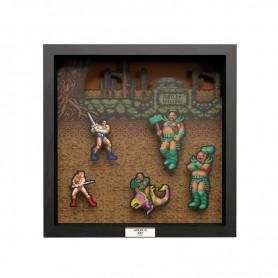Cadre Pixel Frames - Golden Axe