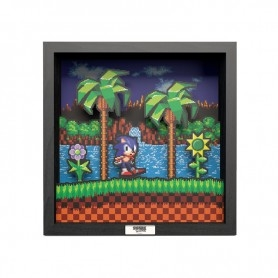 Pixel Frames - Sonic The Hedgehog