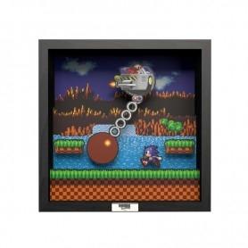 Pixel Frames - Sonic The Hedgehog Wrecking Ball