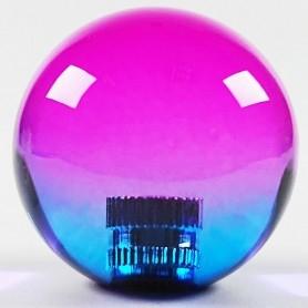 Transparent KORI joystick balltop - Bi-color Violet-Blue