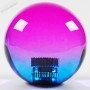 Poignée Joystick ronde KORI transparente - Bi-color Violet-Bleu