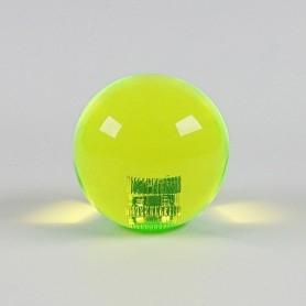 Transparent KORI joystick balltop - Yellow