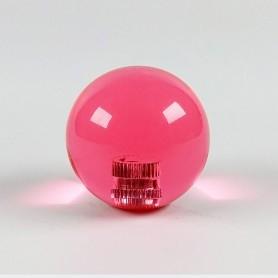 Transparent KORI joystick balltop - Pink