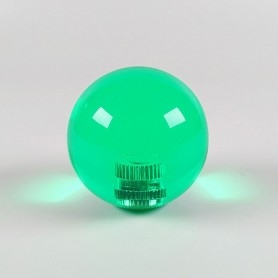 Poignée Joystick ronde KORI transparente - Vert