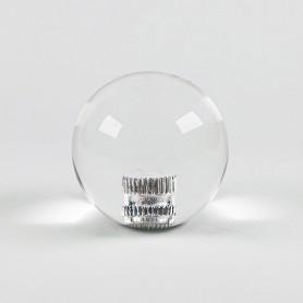 Poignée Joystick ronde KORI Transparente - incolore