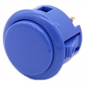 Sanwa OBSF-30 button - Matte Blue