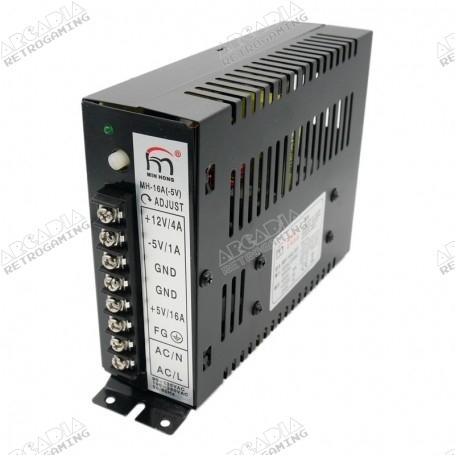 Arcade power supply 5V 12V -5V