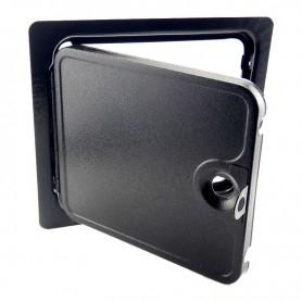 Single solid door - open
