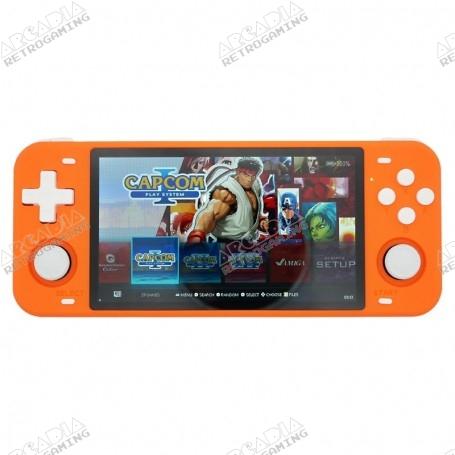 Console portable Powkiddy RGB10 MAX Orange