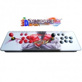 Console Arcade 2 joueurs - Pandora 3D Saga EX - SF4 RYU