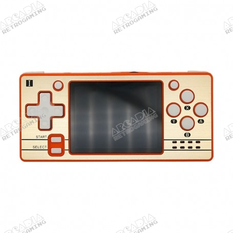 Console portable Powkiddy Q20 mini - Orange