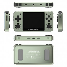 Anbernic RG351MP handheld Console - Mint Green