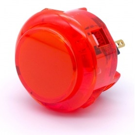 Bouton Sanwa OBSC-30 - Rouge