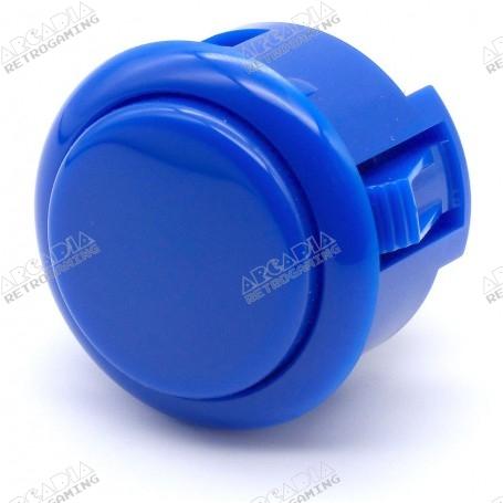 Bouton Sanwa OBSF-30 - Bleu foncé