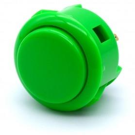 Sanwa OBSF-30 Button - Green