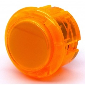 Seimitsu Transparent Button PS-14-K - Orange