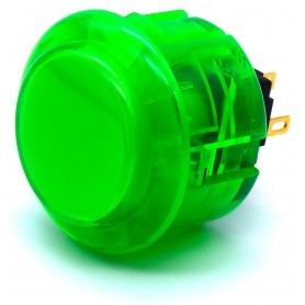 Seimitsu Transparent Button PS-14-K - Green