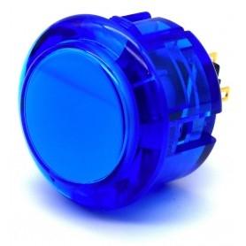 Bouton Seimitsu Transparent PS-14-K -Bleu