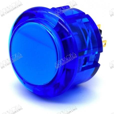 Seimitsu Transparent Button PS-14-K -Blue