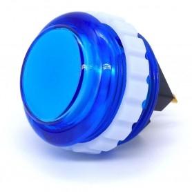 Bouton Seimitsu Transparent PS-14-KN - Bleu