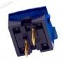 Bouton Seimitsu Transparent PS-14-KN - Bleu - switch