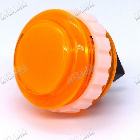 Bouton Seimitsu Transparent PS-14-KN - Orange